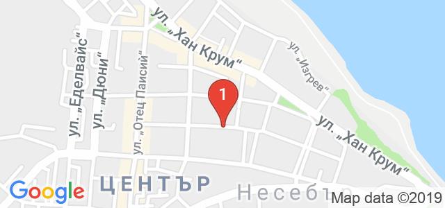 Хотел Пешев Карта