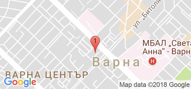 Национална верига магазини Ardes.bg Карта