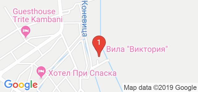 Вила Виктория Термал СПА Карта