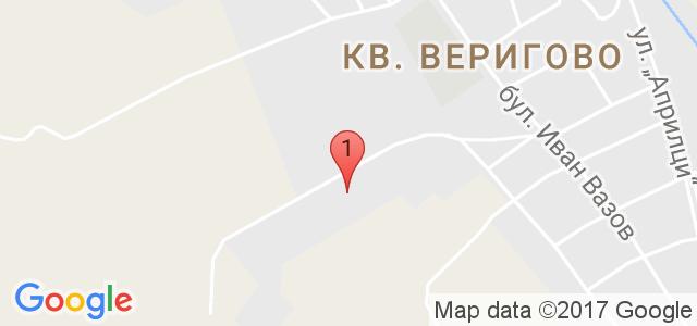 Конна база Ездул  Карта