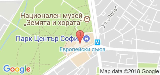 Park Center Sofia Карта