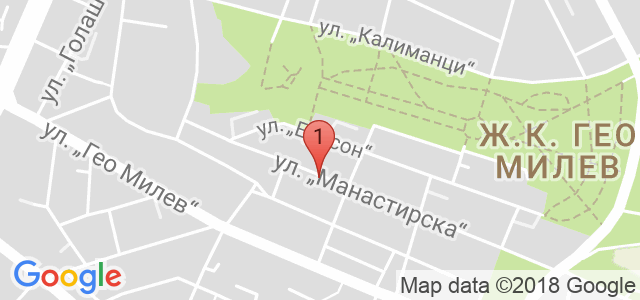 Д-р Снежина Цекова Карта