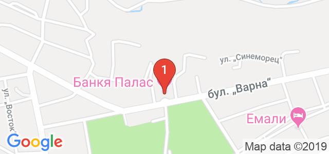 Хотел Банкя Палас  Карта