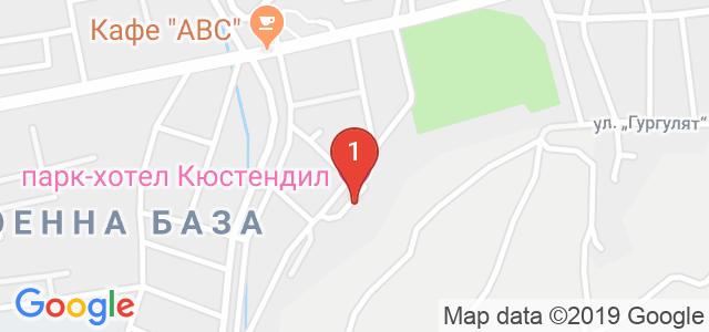 Парк Хотел Кюстендил Карта