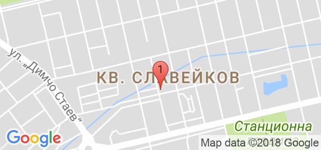 САЛОН ЗА КРАСОТА ЕЛЕГАНС Карта