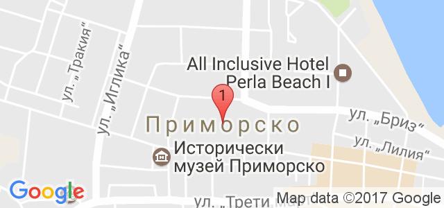 Хотел Конкордия Плаза Карта