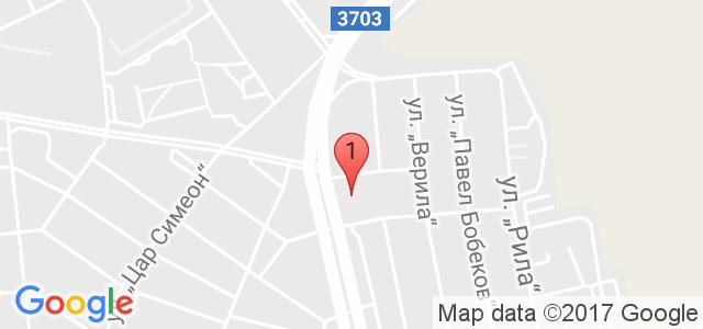 Хотел Форум 3* Карта