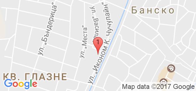 Хотел Евелина Палас 4* Карта