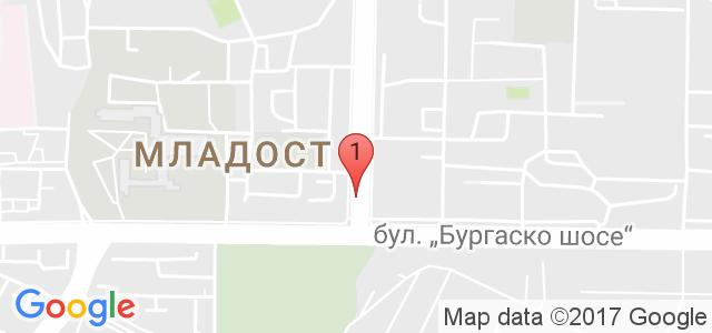 детски парти център Карта