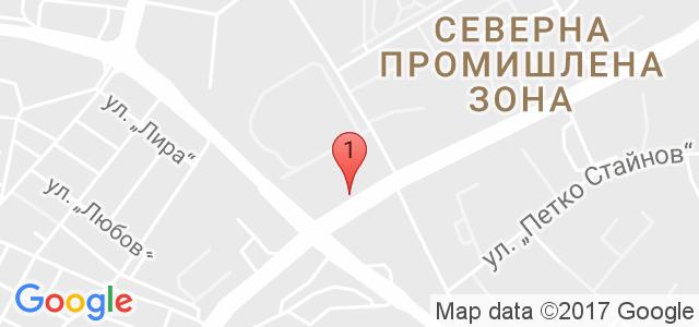 Автоцентър Хикон Карта