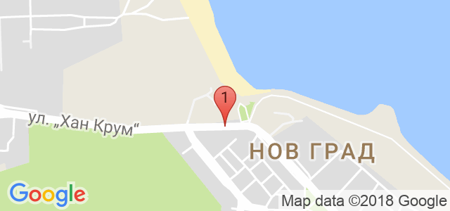 хотел Мистрал Карта