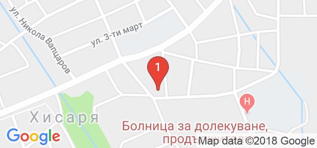 Хотел Чинар 3* Карта