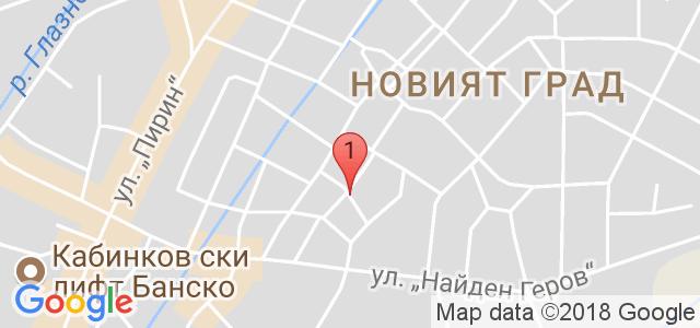 Хотел Ида 3* Карта
