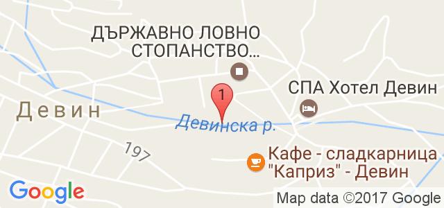 Спа Хотел Девин 4* Карта