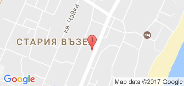 Хотел Сапфир Карта