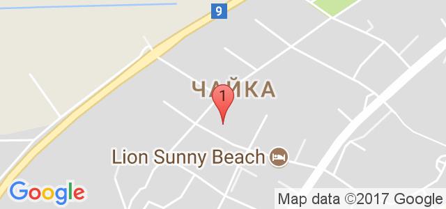Хотел Синя Ривиера 3* Карта