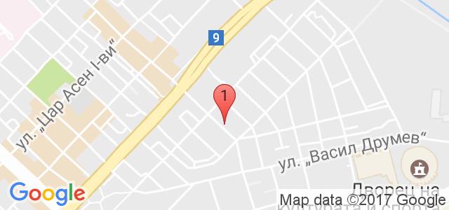 Варна Турист Сервиз  Карта