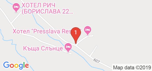 Семеен Хотел Балкан Парадайс Карта
