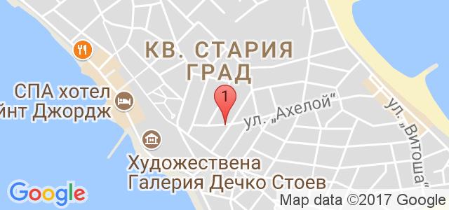 Хотел Зевс 3* Карта