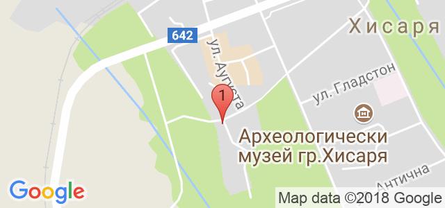 Бутиков хотел Вила Париж Карта