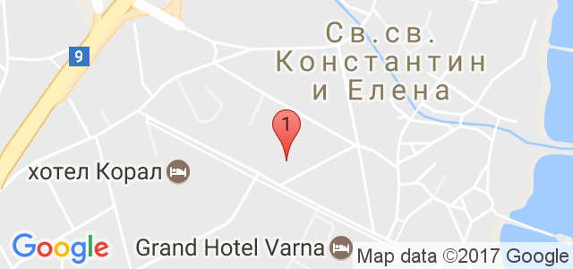 Хотел Глория 3* Карта