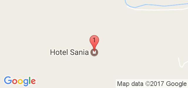Хотел Сания Карта