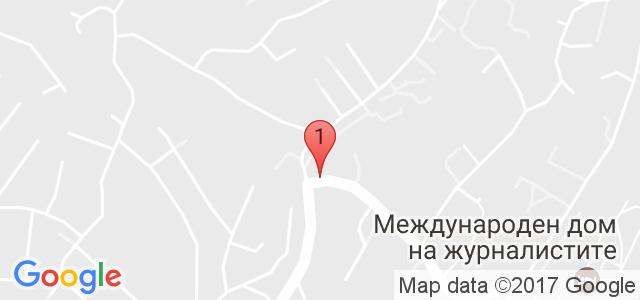 Хотел Детелина Карта