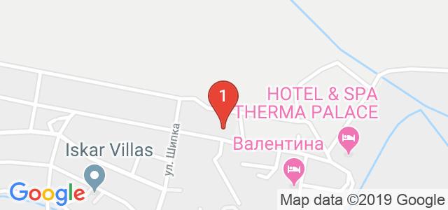 Хотел Анкор Карта