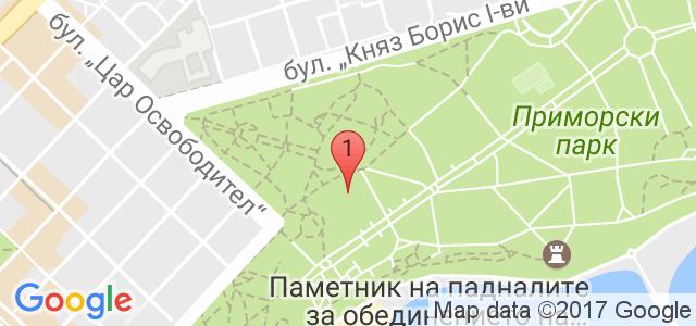 бар Летен театър Карта