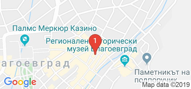 Десафио ЕООД - Благоевград Карта