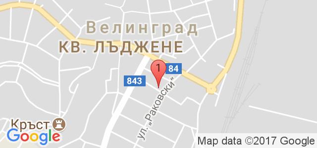 Хотел Жери 3* Карта
