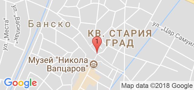 Хотел Свети Георги Ски и Спа  Карта
