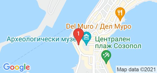 Хотел Блу Бей Карта