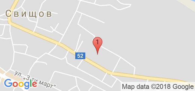 Семеен хотел Свищов Карта