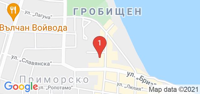 Хотел Перла Бийч Лъкшъри Карта