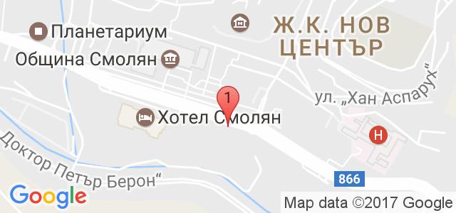 Хотел Дикас 3* Карта