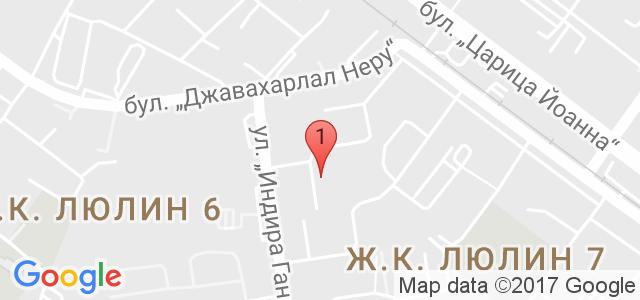 Бергман Сървисис ЕООД Карта
