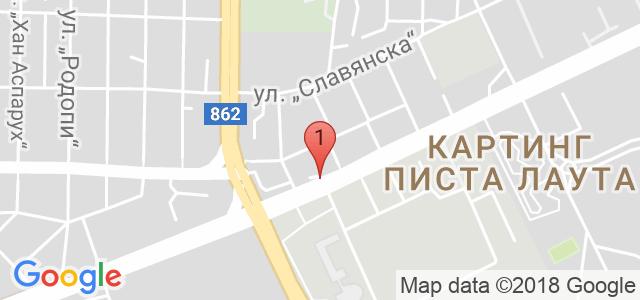 Парк Хотел Пловдив*** Карта