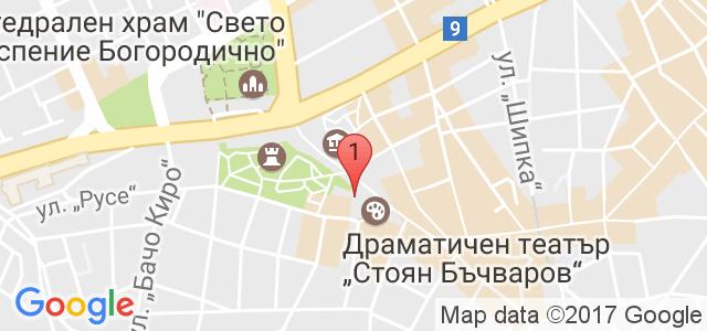 Драматичен театър Варна Карта