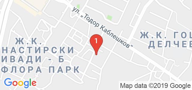 Детски парти клуб Звездички Карта