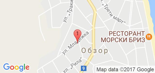 хотел Фаворит Карта