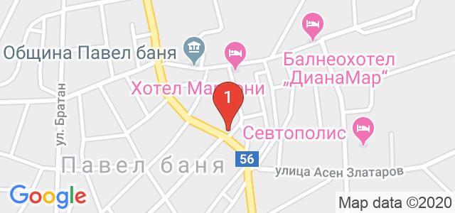 Хотел Антик 3* Карта