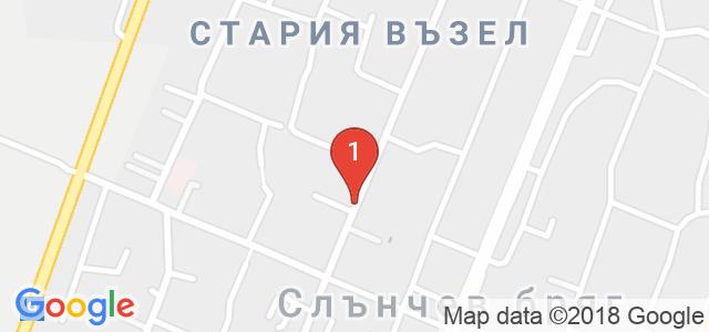 Хотел Риор 3* Карта