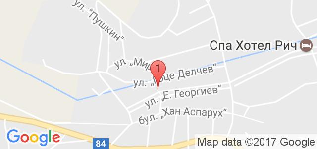 Семеен Хотел Витяз Хаус Карта