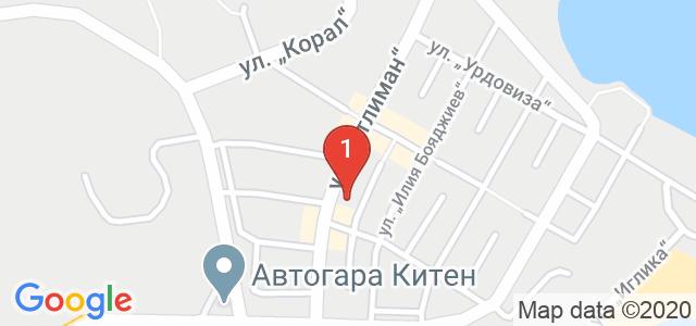 Хотел Кипарис Карта