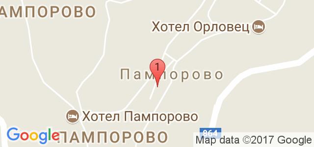 Хотел Преспа 3* Карта