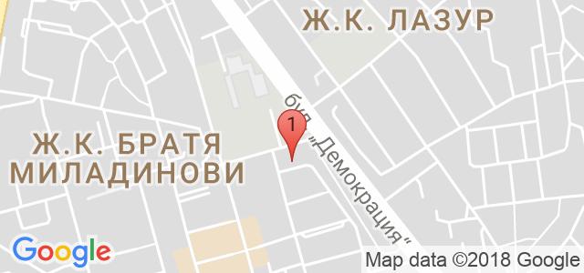 Вега Тест- П.Костадинова Карта