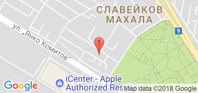 Студио за красота Blessed Карта