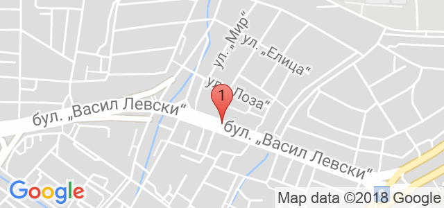 Механа Хъшове Карта