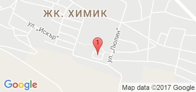 SPA хотел Русалка 3* Карта